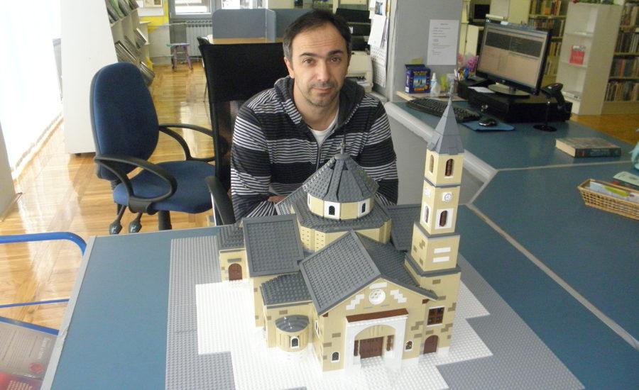 LEGO Župna crkva Sv. Jurja – Đurđevac