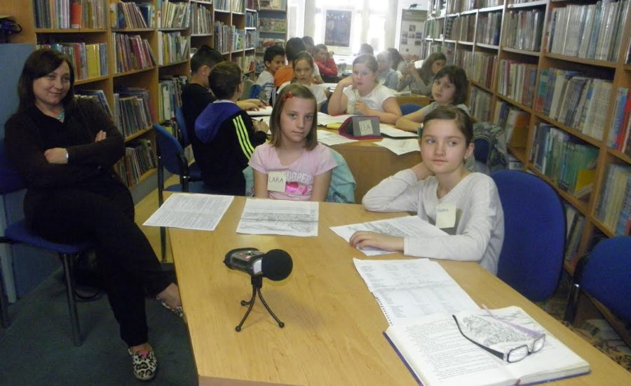 Jezične igre u Gradskoj knjižnici Đurđevac