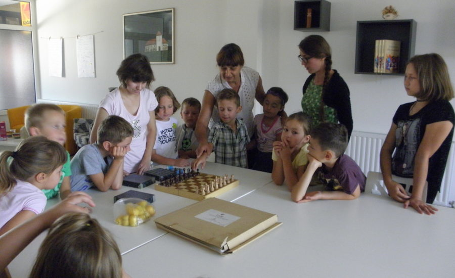 Udruga slijepih Koprivničko-križevačke županije održala radionicu u Gradskoj knjižnici Đurđevac