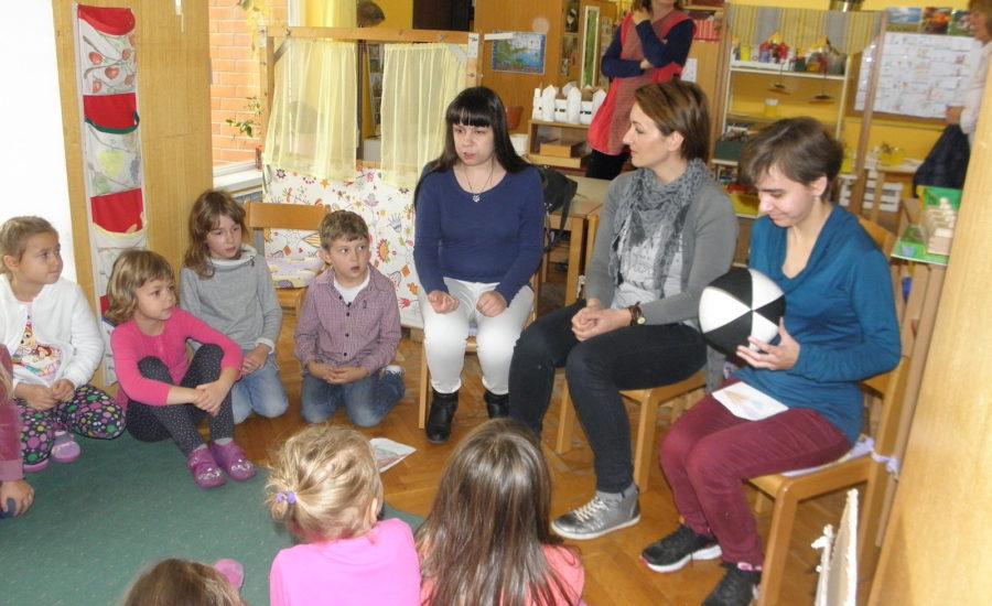 Bibliokofer i Udruga slijepih Koprivničko-križevačke županije posjetili vrtić