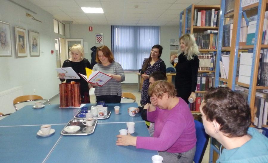 Predblagdansko druženje Gradske knjižnice Đurđevac i Udruge Mali princ
