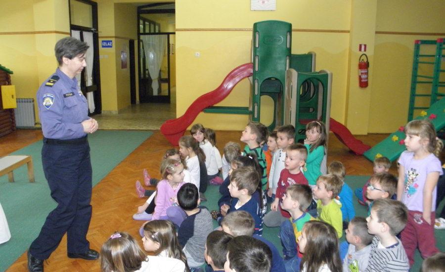 Edukativno predavanje u Dječjem vrtiću Maslačak
