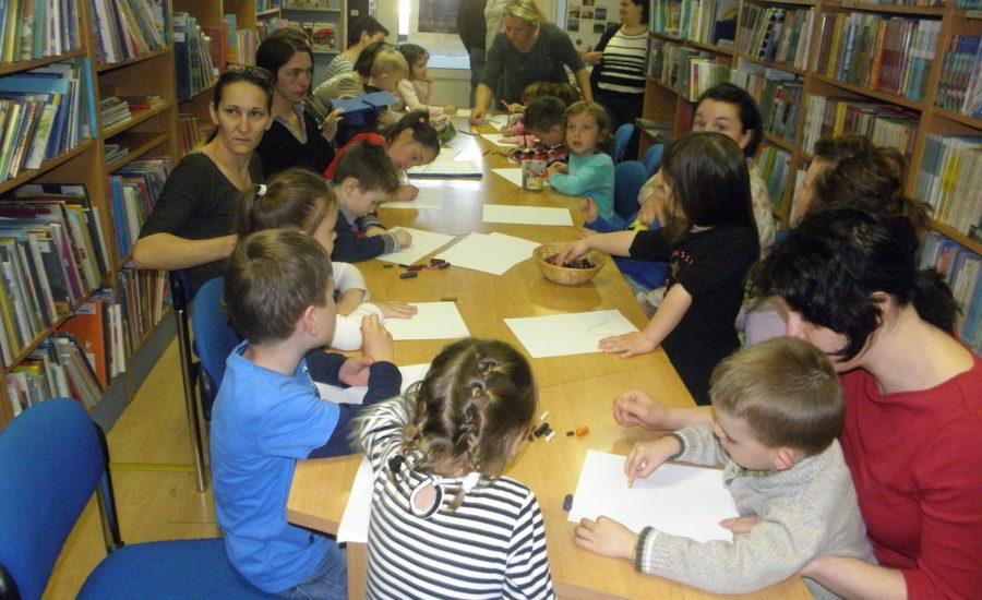 Radionice za predškolce u Gradskoj knjižnici Đurđevac