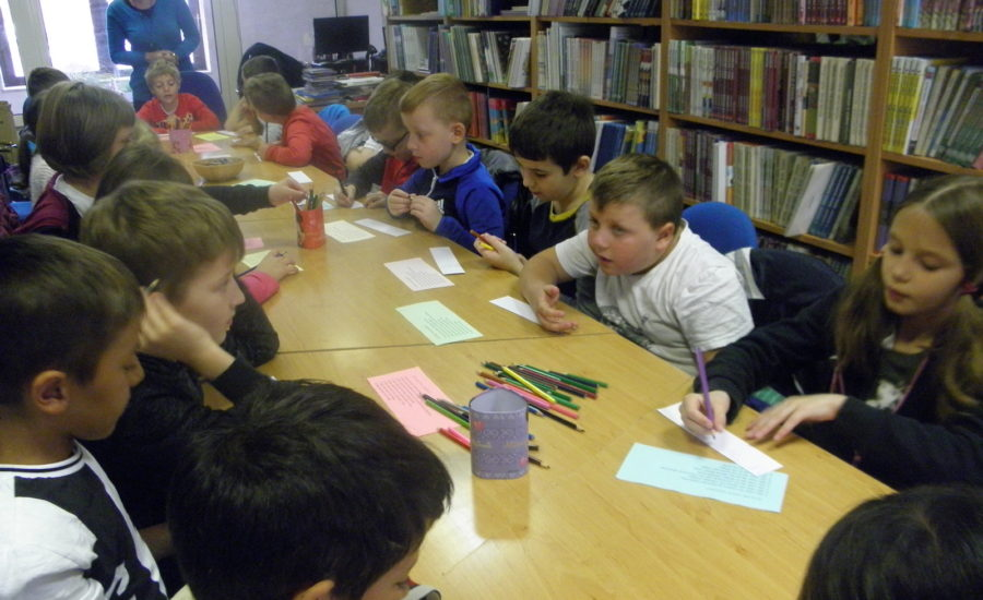 Učenici 2. d razreda posjetili Gradsku knjižnicu