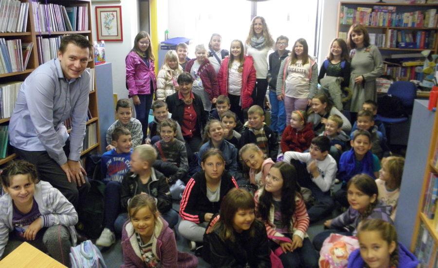 Učenici posjetili knjižnicu