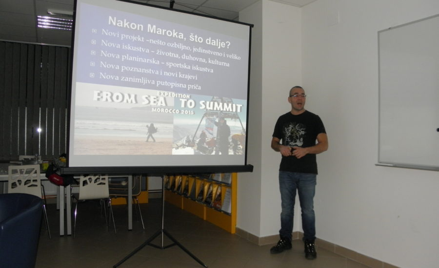 "Putopisno predavanje ""From sea to summit – Damavand 2017"""