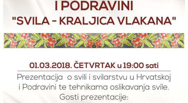 Put svile u Hrvatskoj i Podravini