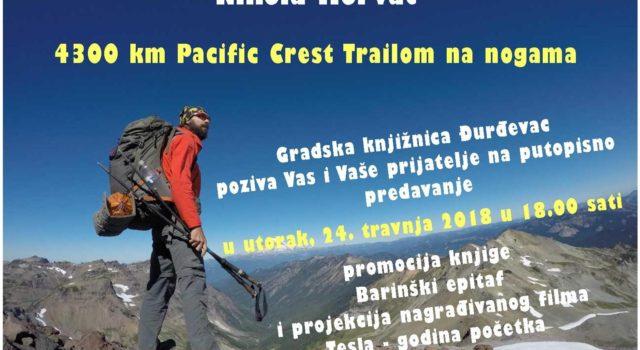 Putopisno predavanje Nikole Horvat – 4300km Pacific Crest Trailom na nogama