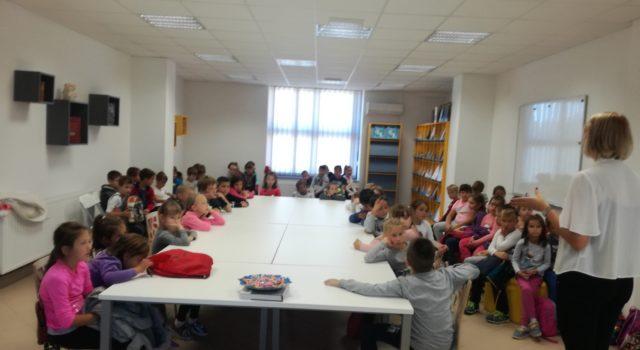 Posjeti osnovnoškolaca Gradskoj knjižnici Đurđevac