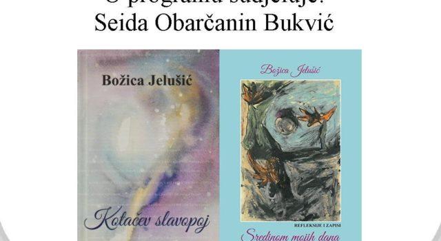 Predstavljanje dviju knjiga Božice Jelušić