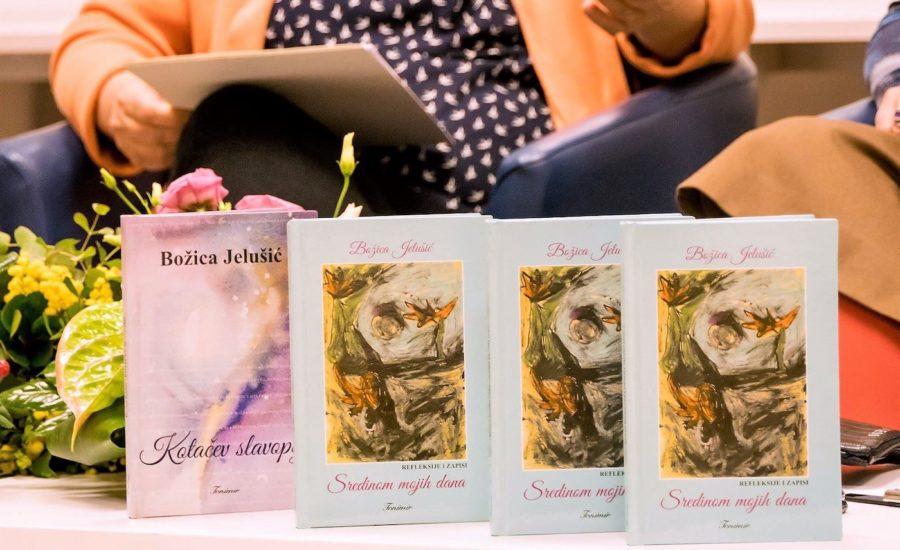 Promocija novih knjiga Božice Jelušić