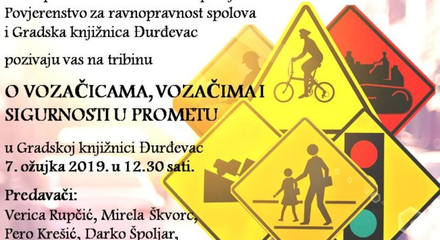 """Tribina """"O vozačicama, vozačima i sigurnosti u prometu"""""""
