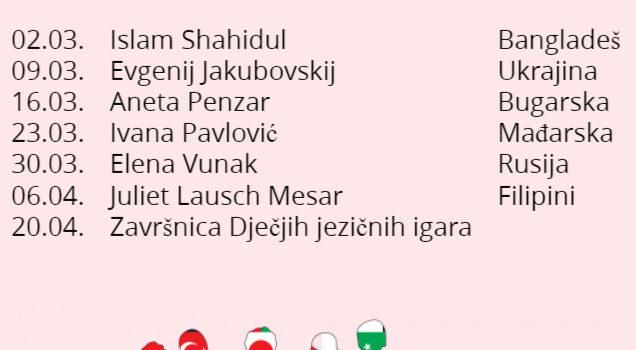 Jezične igre u Gradskoj knjižnici Đurđevac – Mađarska
