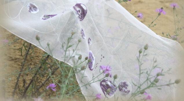 Revija i izložba rukom oslikane svile Katice Blažok i suradnica
