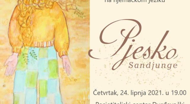 Pozivnica – Predstavljanje slikovnice Pjesko, pješčani dječak