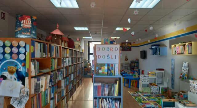 Dječji odjel Gradske knjižnice Đurđevac