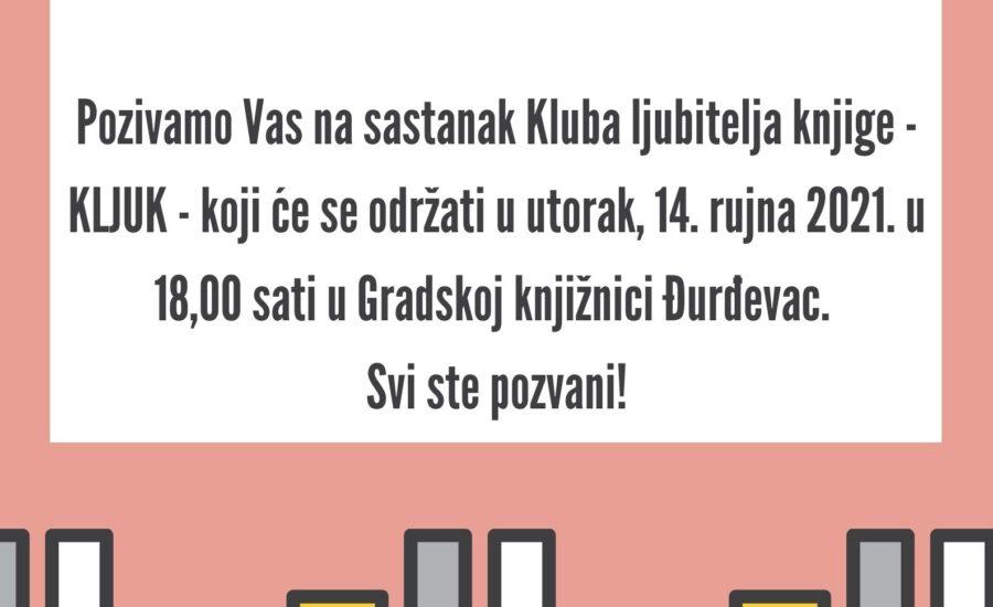 Klub ljubitelja knjige – KLJUK